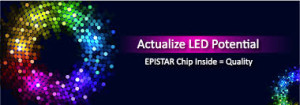 Epistar chips inside