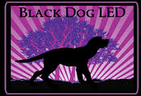 Black Dog LED logo